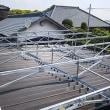 ソーラーパネル架台設置工事