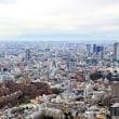 六本木ヒルズから見た2018年の東京