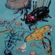 『素材の蟲』展