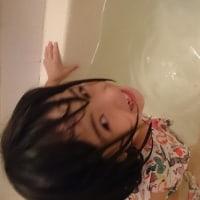 水遊び☆顔つけできるようになったよ(*^_^*)
