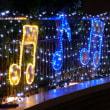 2017年度川崎駅前のイルミネーション1
