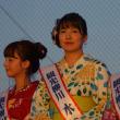 有明海花火フェスタ  観光柳川キャンペーンレディ水の精・古賀理紗  2017・8・27