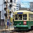 長崎電気軌道 浦上車庫(2018.8.12) 309 1号系統 赤迫行き