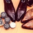 靴磨きと経営