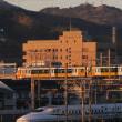 静岡鉄道は東海道新幹線を跨ぐA3004 (2018年12月)