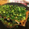 食い道楽の旅に→青源のネギ味噌餃子