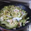 pochiko農園の野菜たち 巨大ゴーヤと大量消費