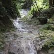 金剛山・石ブテ東谷(綺麗な岩床)