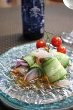 鯛のキュウリ巻チリソース味♪澪と楽しむパーティーレシピ