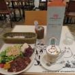 ムーミンカフェで大人プレート(meat)&カフェラテ・ムーミン