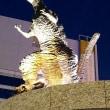 新・ゴジラ像