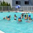 プールでの活動