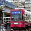 長崎電気軌道 大橋(2018.8.12) 1801 1号系統 赤迫行き