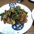 7月13日(金)茄子とインゲンの味噌炒め
