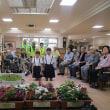 7/17 人権の花運動で三木山荘へ行きました