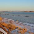 海が凍った