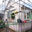 いすみ市岬町榎沢『 Hさんご夫婦のお家を増築&改修! 』⌂Made in 外房の家。は、順調進行中にて増築部分の仕上に入ってます!本日はクロスのパテ処理を行いました。