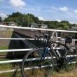 猛暑続くなか自転車