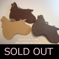 SOLD OUT THANKS コッカーシルエット型ドアプレート 犬雑貨