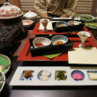 雄琴温泉「湯元館」の夕食・朝食