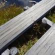 秋の車旅に出かけました!(8)竜宮小屋から山の鼻まで戻ります