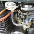 スクリューボルトのシールテープ巻き直し、ドレンボルト交換。