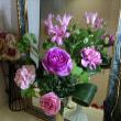 頂き物の花束で生花