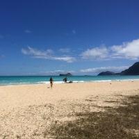 ベローズビーチとカラマビーチ、春休みハワイ旅行。