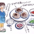 昨日の夕食(イラスト)