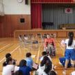 益子町社会福祉協議会 福祉教育 in 田野学校