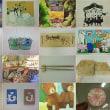 児童画クラス、一般絵画クラス作品