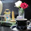 イヴニング・カフェ、何時ものカップで!