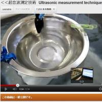 <<超音波測定技術 Ultrasonic measurement techniques >>