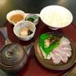お盆休み初日☆まむしの湯でカキ氷と鯛茶漬け