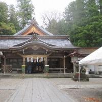 白山比咩神社のやすらぎ処を見学