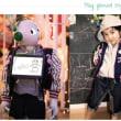 ヒューマノイドロボットのための洋服ブランドが登場、ロボットと子供をお揃いに