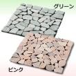 ピンクの天然石マット #ピンク #雑草 #ガーデニング
