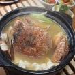 毛ガニ鍋♪静かな食卓