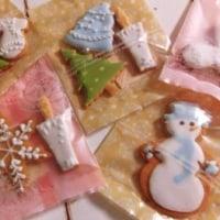 クリスマスアイシングクッキー 1