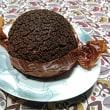 チョコレートのシュークリーム