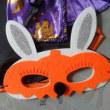ハロウィン・うさぎのアイマスク