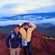 Big Island★2018ハワイ島ツアー その14/マウナケア山3000M付近の小山へ
