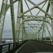 長生橋と信濃川の風景
