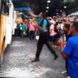 マナウスのバスストライキ