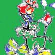 朝日記180517 「展覧会」というわたくしのプロジェクト他と今日の絵