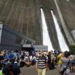 宮ケ瀬ダムの観光放流を見に!