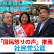 増山れな参議院東京地方区社民党公認候補の政策まとめ