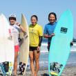 第28回阿南市サーフィン連盟杯(LESCUP)結果