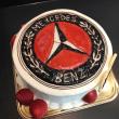 ロゴ入りイラストケーキ