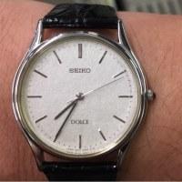今日の腕時計 11/28 SEIKO DOLCE 8N41-6060